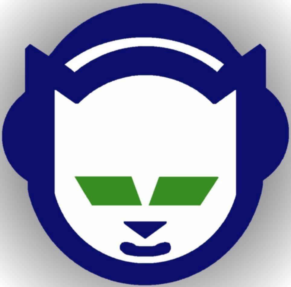 Cat With Headphones Logo Company Name