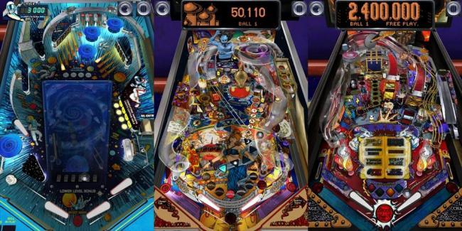 Pinball arcade los mayores cl sicos de los pinball for Pinball de mesa